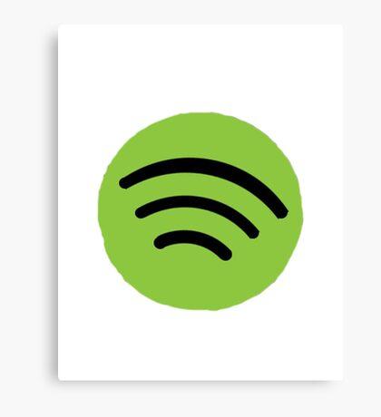 Spotify Canvas Print