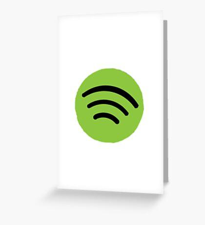Spotify Greeting Card