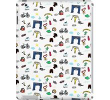 Triathlon Doodles iPad Case/Skin