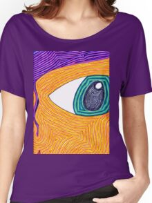 Psychedelic Eye Women's Relaxed Fit T-Shirt