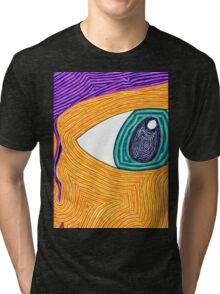 Psychedelic Eye Tri-blend T-Shirt