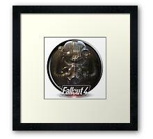Fallout Power Armor design Framed Print