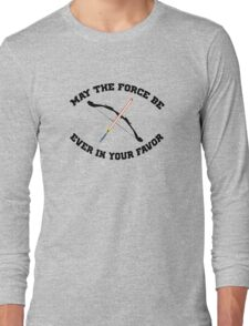 THE HUNGER GAMES MEETS STAR WARS Long Sleeve T-Shirt