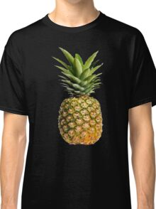 Pineapple Fruit Hipster Black Food Classic T-Shirt