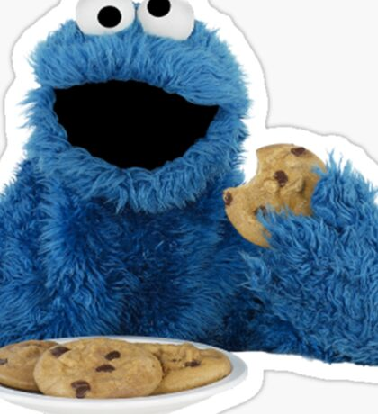 Cookie Monster Sticker