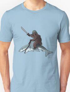 Bear riding a shark T-Shirt