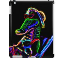 Neon Alligator iPad Case/Skin