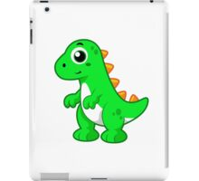 Cute illustration of Tyrannosaurus Rex. iPad Case/Skin