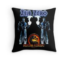 Mortal Kombat - ZUB ZERO Throw Pillow