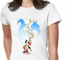 Kitsune Summon Womens Fitted T-Shirt