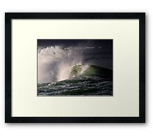 Winter Waves in Waikiki Framed Print