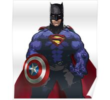 Superhero combo Poster