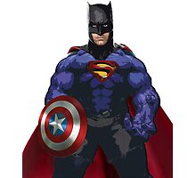Superhero combo Photographic Print