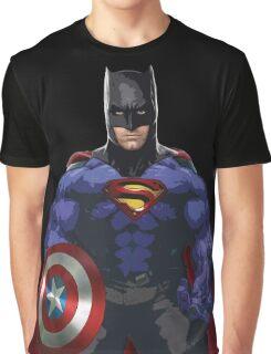 Superhero combo Graphic T-Shirt