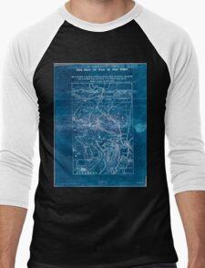 Civil War Maps 1906 War maps and diagrams 02 Inverted Men's Baseball ¾ T-Shirt