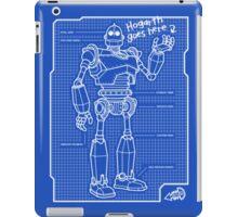 Blueprint iPad Case/Skin