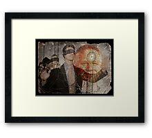 Glenn Beck: Webmaster Framed Print