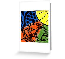 Primary Fruit Greeting Card
