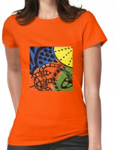 Primary Fruit Womens Fitted T-Shirt