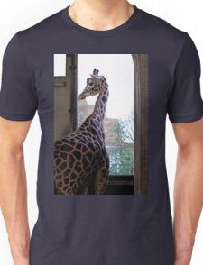 Giraffe at London Zoo Unisex T-Shirt