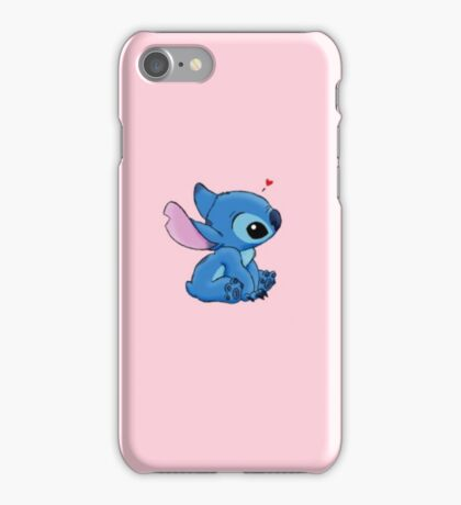Stitch - Pasel Pink iPhone Case/Skin