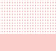 Dot Pattern with Colour Block by LizWallflower