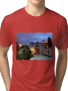 Suleymaniye Mosque in the Evening Tri-blend T-Shirt