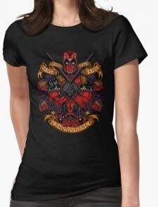 Day of the Dead Merc Womens Fitted T-Shirt