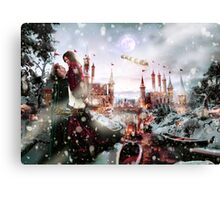 Outlaw Queen - Chrismas Day In Camelot Canvas Print