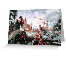 Outlaw Queen - Chrismas Day In Camelot Greeting Card