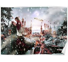 Outlaw Queen - Chrismas Day In Camelot Poster