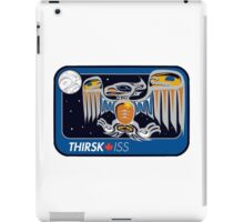 Personal ISS Mission Patch of Robert Thirsk iPad Case/Skin