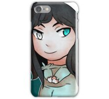 Chibi Illusion Sticker iPhone Case/Skin
