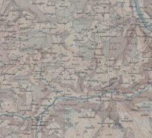 Civil War Maps 1554 Röthenbach Sticker