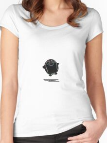 Techno Penguin Women's Fitted Scoop T-Shirt