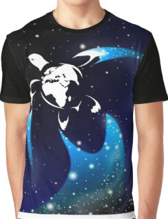 Earth Turtle Graphic T-Shirt