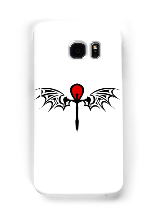 quotreal vampire symbol quot samsung galaxy cases amp skins by