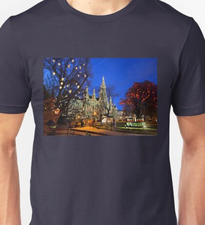 Christmas postcard from Vienna Unisex T-Shirt