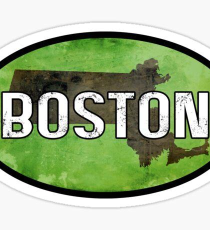 Boston Green Sticker