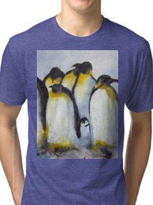 Penguin Party Tri-blend T-Shirt