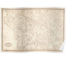 Civil War Maps 1536 Richmond surveyed under the direction of N Michler Maj of Engrs Bvt Brig Genl USA and PS Michie Capt of Engrs Bvt Brig Genl USV Poster