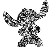 Stitch Zentangle Photographic Print