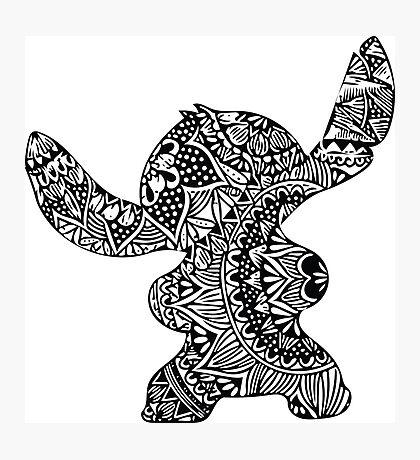 Stitch Zentangle Photographic Print