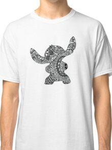Stitch Zentangle Classic T-Shirt