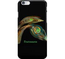 Fractosaurus iPhone Case/Skin