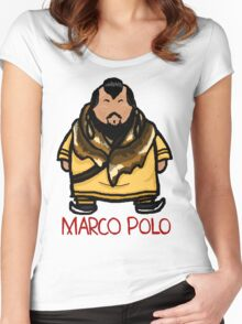 Kublai Khan - Marco Polo Women's Fitted Scoop T-Shirt