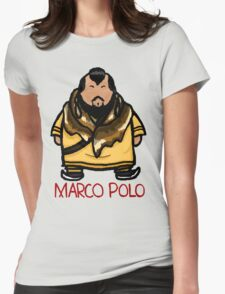 Kublai Khan - Marco Polo Womens Fitted T-Shirt