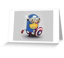Captain Minion Greeting Card