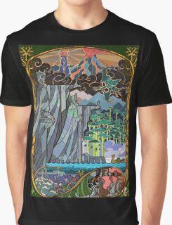 The Gates of Argonath Graphic T-Shirt