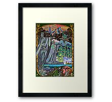 The Gates of Argonath Framed Print